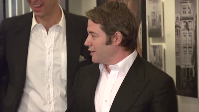 matthew broderick at the special screening of 'charlie wilson's war' at the museum of modern art in new york new york on december 16 2007 - matthew broderick stock videos & royalty-free footage