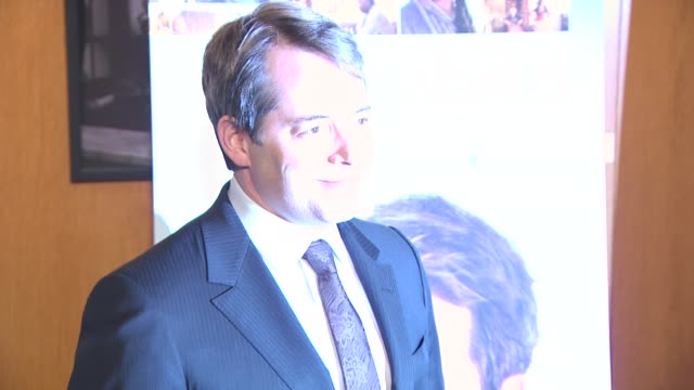 matthew broderick at the 'wonderful world' premiere at west hollywood ca - matthew broderick stock videos & royalty-free footage