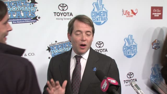 matthew broderick says he doesn't like to think in terms of star power but claims that he's taking vitamins to increase his own star power at the... - matthew broderick stock videos & royalty-free footage