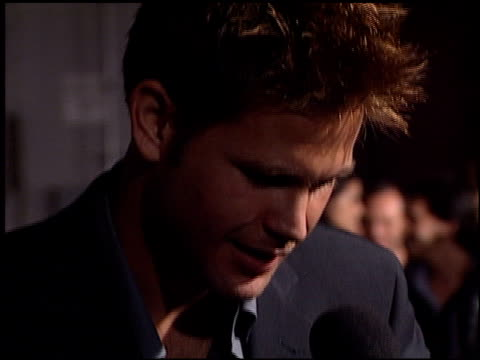 Matthew Davis at the 'Tigerland' Premiere at 20th Century Fox Lot in Century City California on October 3 2000