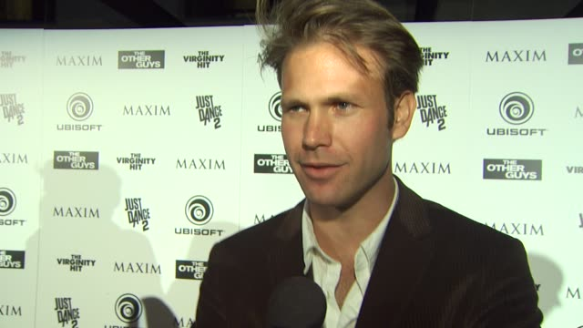 Matthew Davis on what brings him out tonight at the Maxim Ubisoft And Sony Pictures Celebrate The Cast Of 'The Other Guys' at San Diego CA