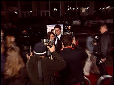 matthew goode at the 'chasing liberty' premiere at grauman's chinese theatre in hollywood california on january 7 2004 - matthew goode stock videos & royalty-free footage
