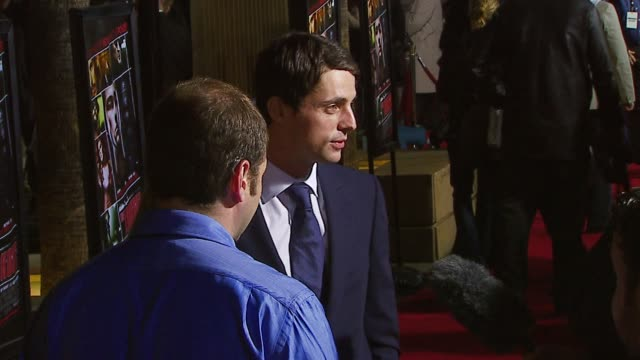 matthew goode at the 'the lookout' premiere at the egyptian theatre in hollywood california on march 20 2007 - matthew goode stock videos & royalty-free footage
