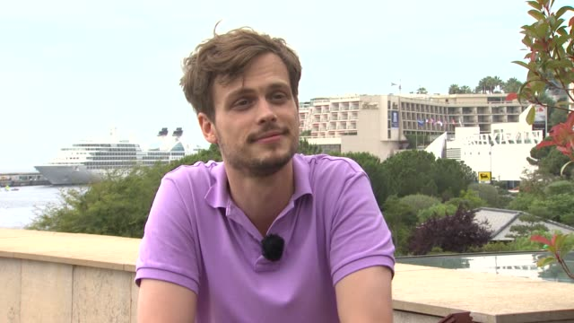 matthew gray gubler jokes on comparing monte carlo to transylvania at the 51st monte-carlo television festival - matthew gray gubler interview at... - transylvania stock videos & royalty-free footage