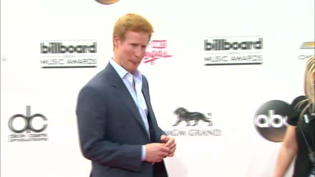 Matthew Hicks at the 2014 Billboard Music Awards Arrivals at the MGM Grand Garden Arena on May 18 2014 in Las Vegas Nevada