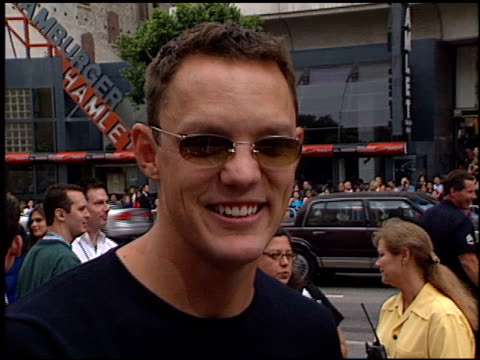 Matthew Lillard at the 'ScoobyDoo' Premiere at Grauman's Chinese Theatre in Hollywood California on June 8 2002