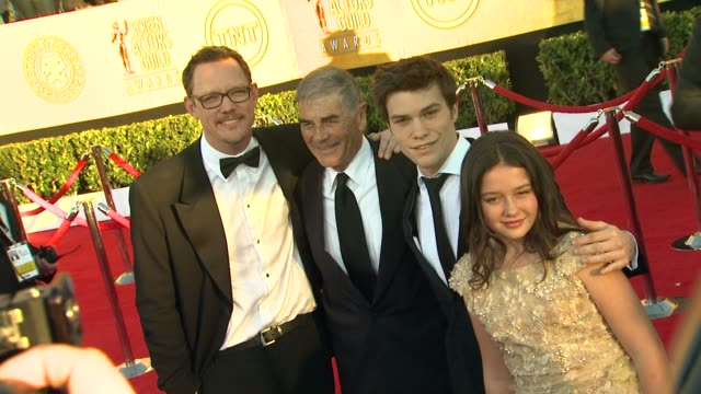 Matthew Lillard Robert Forster Nick Krause Amara Miller at 18th Annual Screen Actors Guild Awards Arrivals on 1/29/12 in Los Angeles CA