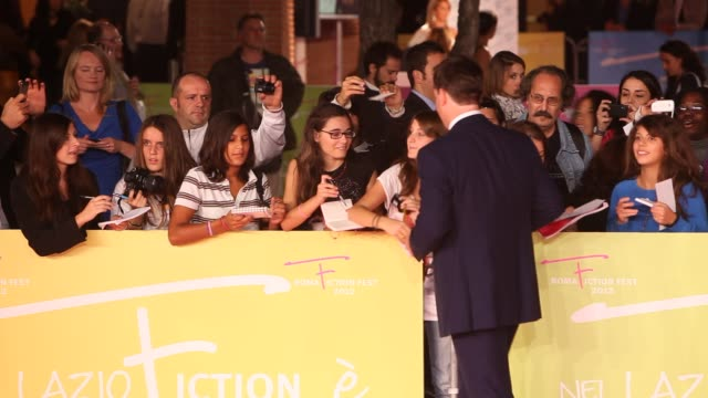 Matthew MacFadyen at the 'Ripper street' World Premiere during the BBC Worldwide Day Rome Fiction Fest at Auditorium Parco Della Musica on October 01...