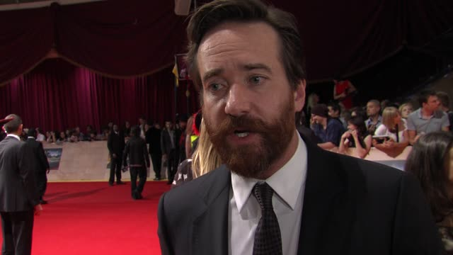 Matthew Macfadyen on being a fan dream role bringing the characters to a new audience and more at the The Three Musketeers in 3D World Premiere at...