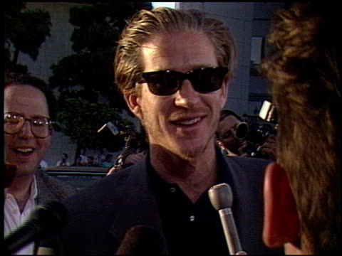 matthew modine at the 'truth or dare' premiere at the cinerama dome at arclight cinemas in hollywood california on may 6 1991 - arclight cinemas hollywood stock videos and b-roll footage