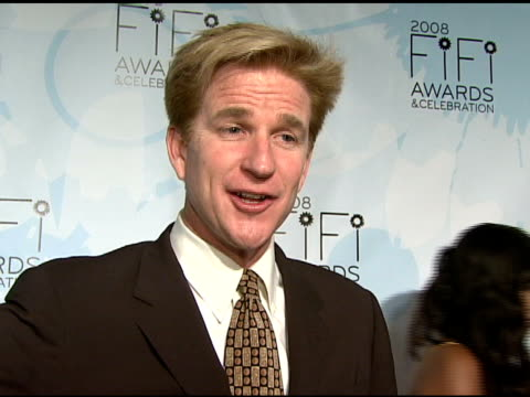 Matthew Modine talking about how he believes perfume smells differently on each woman that wears it at the Fragrance Foundation Presents 36th Annual...