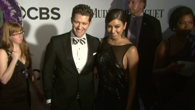 Matthew Morrison at The 67th Annual Tony Awards Arrivals at Radio City Music Hall on June 09 2013 in New York New York