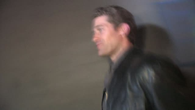Matthew Morrison leaving Trousdale in West Hollywood at the Celebrity Sightings in Los Angeles at Los Angeles CA