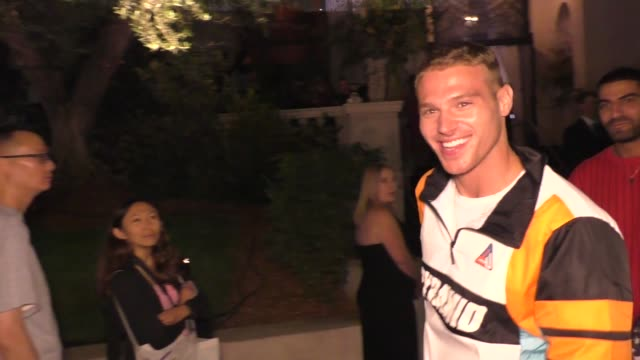 Matthew Noszka outside the ERDEM x HM Runway Show Party at The Ebell Club in Los Angeles in Celebrity Sightings in Los Angeles