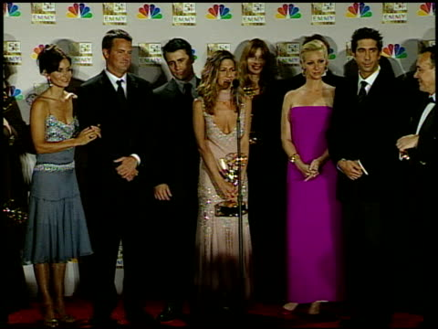 matthew perry at the 2002 emmy awards press room at the shrine auditorium in los angeles, california on september 22, 2002. - shrine auditorium stock videos & royalty-free footage