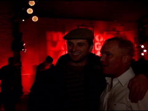 matthew rhys and david pinsky at the motorola and nintendo present the motorola late night lounge at sundance 2008 at null in park city, utah on... - motorola stock videos & royalty-free footage