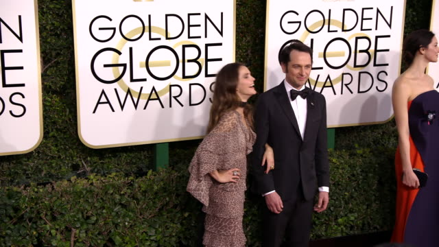 Matthew Rhys and Keri Russell at 74th Annual Golden Globe Awards Arrivals at 74th Annual Golden Globe Awards Arrivals at The Beverly Hilton Hotel on...