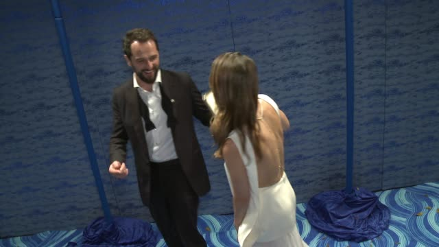 Matthew Rhys and Keri Russell at the HBO's Post Emmy Awards Reception Arrivals at The Plaza at the Pacific Design Center on September 18 2016 in Los...