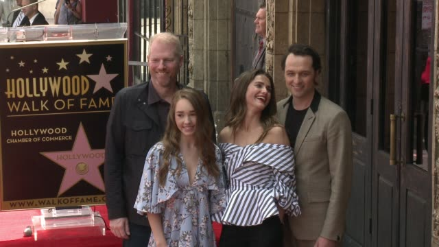 Matthew Rhys and Keri Russell at the Keri Russell Honored With Star On The Hollywood Walk of Fame on May 30 2017 in Hollywood California