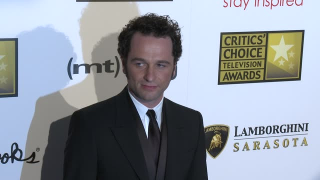 Matthew Rhys at Broadcast Television Journalists Association's 3rd Annual Critics' Choice Television Awards on 6/10/2013 in Beverly Hills CA