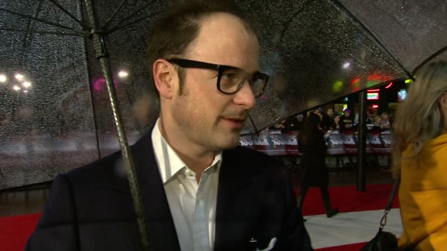 matthew vaughn director on making the film on the challenges of making the film on working with the cast at the kickass uk premiere at london england - kick ass film title stock videos & royalty-free footage