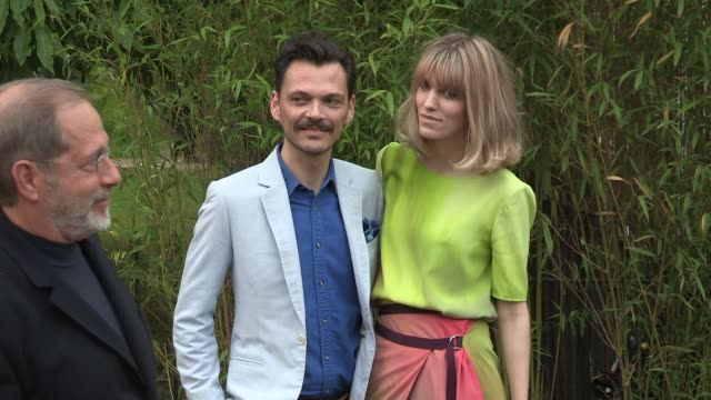 matthew williamson arriving for the summer party at the serpentine gallery on june 26 2013 in london england - the serpentine gallery stock videos & royalty-free footage