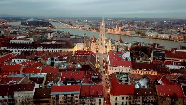 Matthias Church, a Roman Catholic church located in Budapest