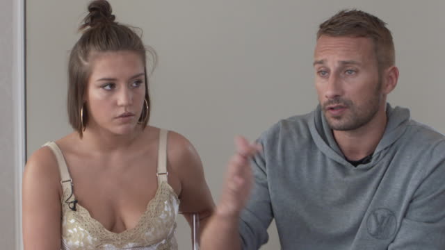 INTERVIEW Matthias Schoenaerts Adele Exarchopoulos on love in social media the changing evolution of love at 'Racer and the Jailbird' Interviews 74th...