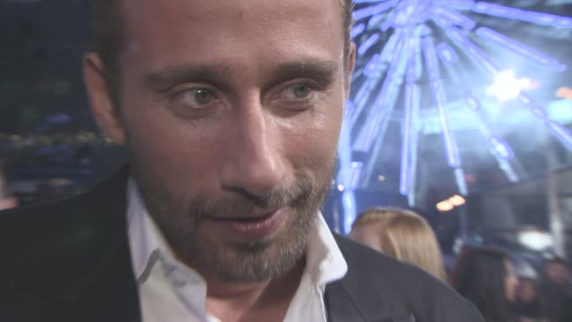 INTERVIEW Matthias Schoenaerts on if Eddie Redmayne would win an Oscar for his role how Eddie Redmayne looked like Jessica Chastain as his character...