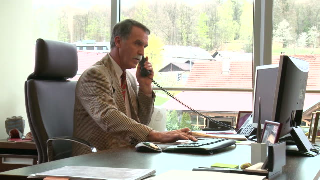 hd: mature businessman - foreman stock videos and b-roll footage