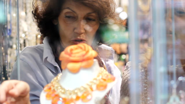 mature window shopping  women - senior women stock videos and b-roll footage