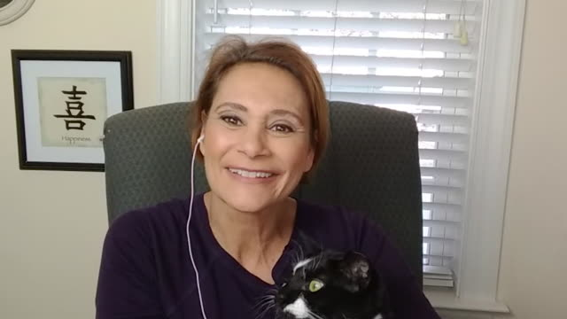a mature woman working from home chatting while on a video call. - talking stock videos & royalty-free footage