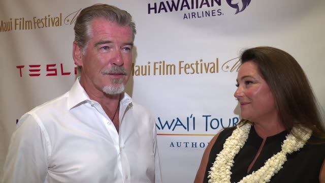Maui Film Festival on June 25 2017 in Wailea Hawaii