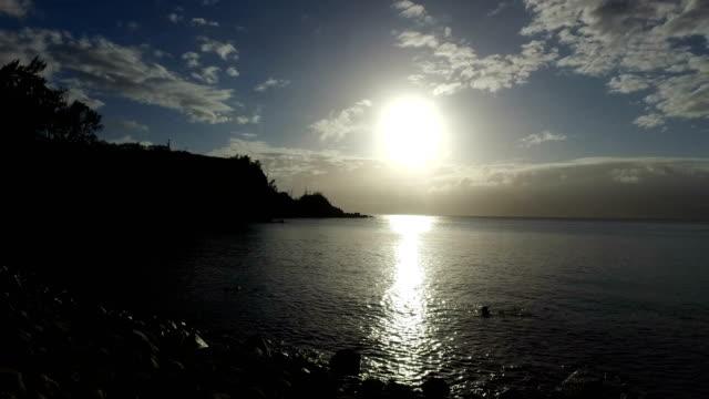 Insel Maui geheimen Bucht im ruhigen goldene Stunde