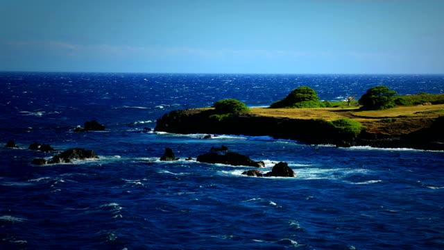 Maui Rocky vulkanischen Strand