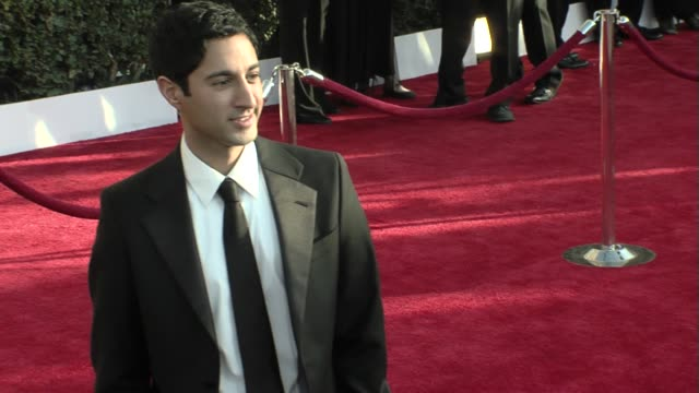 maulik pancholy at the 15th annual screen actors guild awards part 6 at los angeles ca - maulik pancholy stock videos and b-roll footage