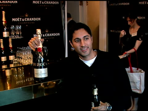 maulik pancholy at the luxury lounge in honor of 2008 screen actors guild sag awards at the four seasons hotel in los angeles california on january... - maulik pancholy stock videos and b-roll footage