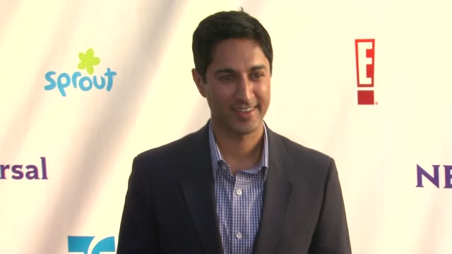 maulik pancholy at the nbc universal press tour allstar party at los angeles ca - maulik pancholy stock videos and b-roll footage