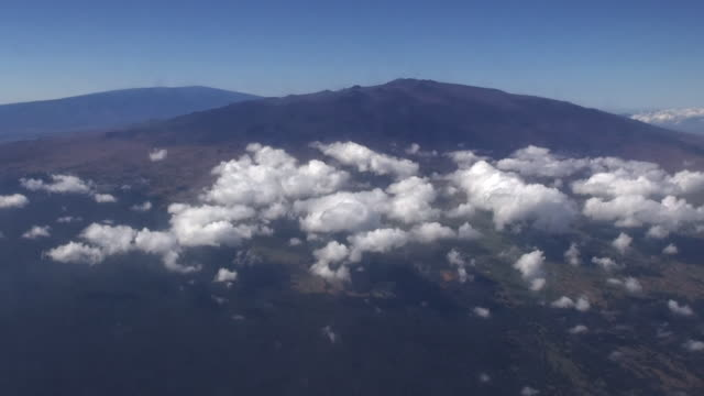 aerial, mauna kea, hi, usa - ハワイ島点の映像素材/bロール