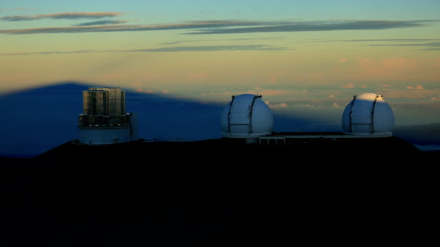 mauna kea observatories - observatory stock videos & royalty-free footage