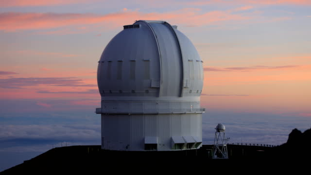 mauna kea observatories - observatory stock videos and b-roll footage