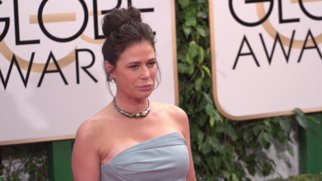Maura Tierney at 73rd Annual Golden Globe Awards Arrivals at The Beverly Hilton Hotel on January 10 2016 in Beverly Hills California 4K