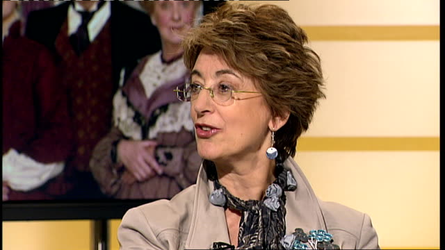 maureen lipman and roy hudd interview lipman and hudd interview sot - maureen lipman stock videos and b-roll footage