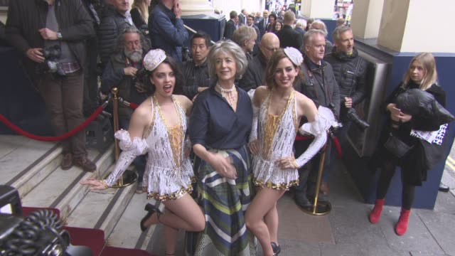 maureen lipman at 42nd street opening night after party on april 04 2017 in london england - maureen lipman stock videos and b-roll footage