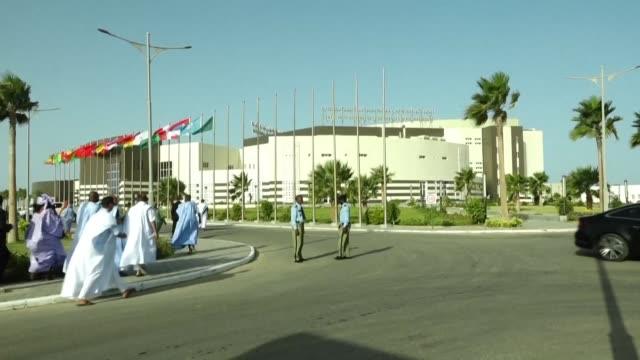 mauritania a country roiled by a history of military coups and upheaval sees its first transfer of power between elected leaders as president mohamed... - mauritania stock videos & royalty-free footage