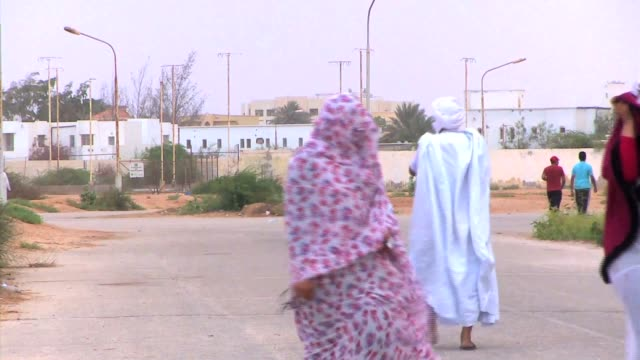 mauritania women sports - ヌアクショット点の映像素材/bロール