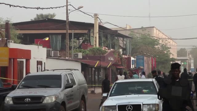 mauritanian man suspected of planning and carrying out a string of deadly attacks on sites popular with foreigners in mali last year has been... - mauritania stock videos & royalty-free footage