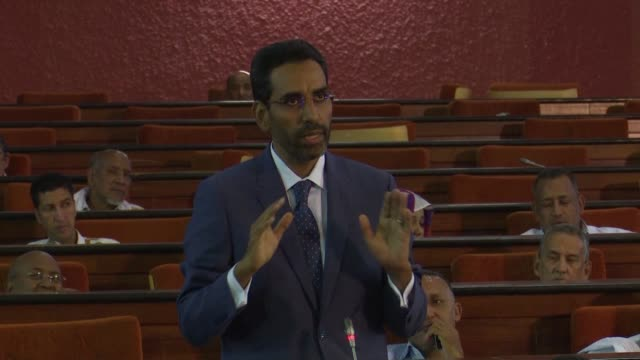 mauritanian members of parliament deabate the case of the blogger who came to world attention after he was given the death penalty for blasphemy - blogging stock videos & royalty-free footage