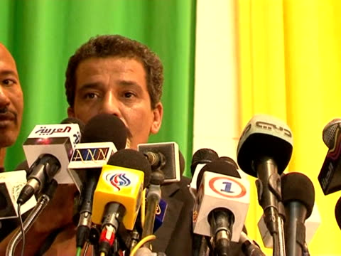 mauritania's military rulers and opposition leaders signed an agreement thursday to end the political crisis in a deal reached with the help of... - nouakchott stock videos & royalty-free footage