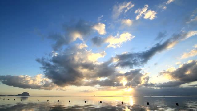 Mauritius-Sonnenuntergang